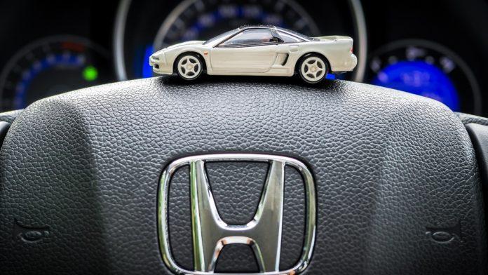 Замена масла на Хонда СРВ